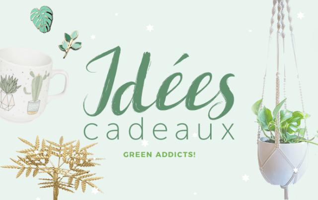 Idées cadeaux pour amateurs de plantes, plant lovers, green addicts, nature