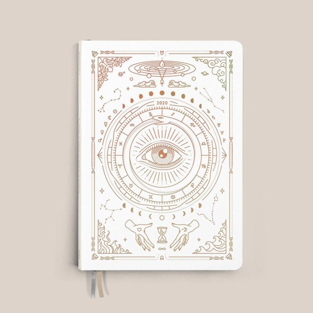 Agenda astrologique 2021 Magic of I, planification, calendrier spirituel, cycles de la lune et féminin