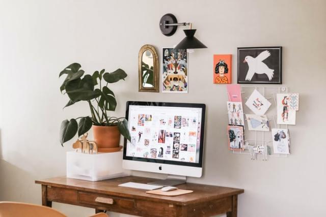 Mood board, espace de travail inspirant, objectifs, mieux travailler, bien-être au travail, technique de travail, productivité
