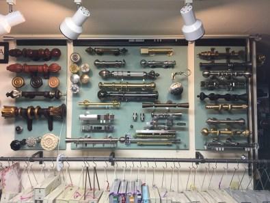 Assorted metal rods