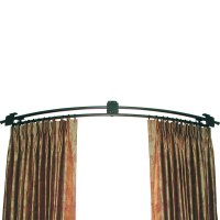 Continuously Curved Rod  Ona Drapery Hardware