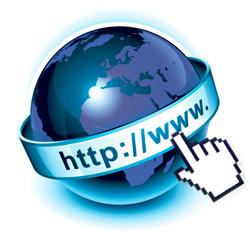 Internet globe icon