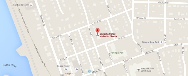Google map of church location
