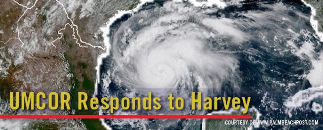 UMCOR Responds to Harvey