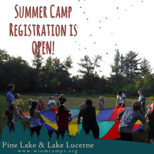 Summer camp registration is open! Click here...