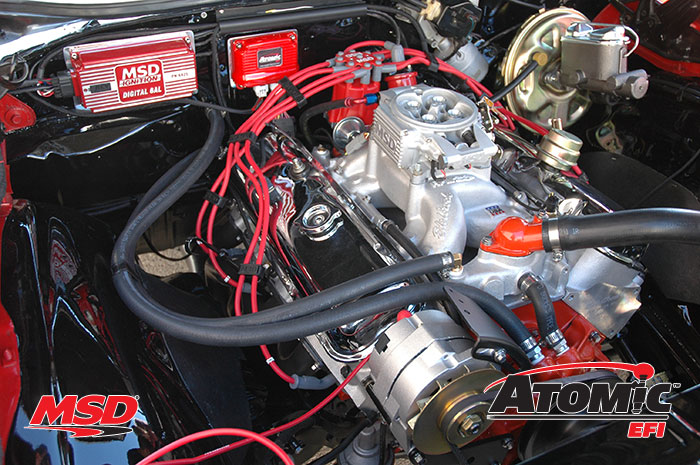 66 Mustang Engine Wiring Diagram Product Spotlight Msd Atomic Efi Fuel Injection System
