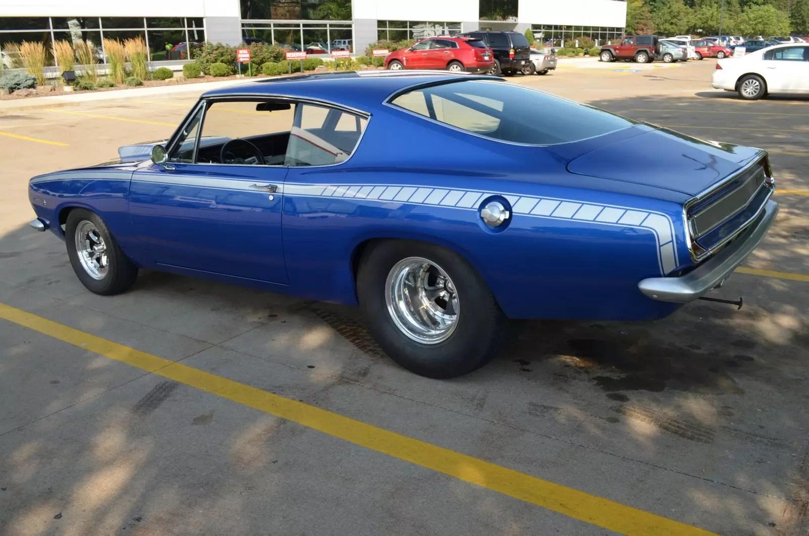 1967 Plymouth Barracuda Restoration Parts