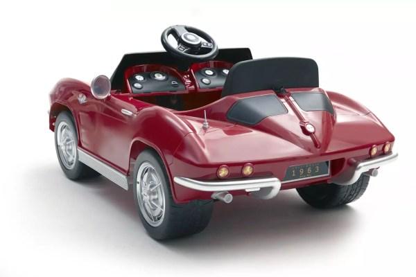 Battery Powered Corvette Kids Car