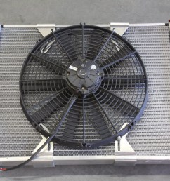 here s a photo of a typical 16 inch fan mounted without a shroud on an [ 5184 x 3456 Pixel ]