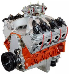 atk performance chevy ls408 crate engine [ 1553 x 1600 Pixel ]