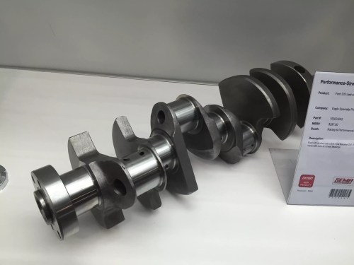 small resolution of this 331 stroker cast crankshaft now features oe ford rod journals no need to mess with retro fit chevy bearings