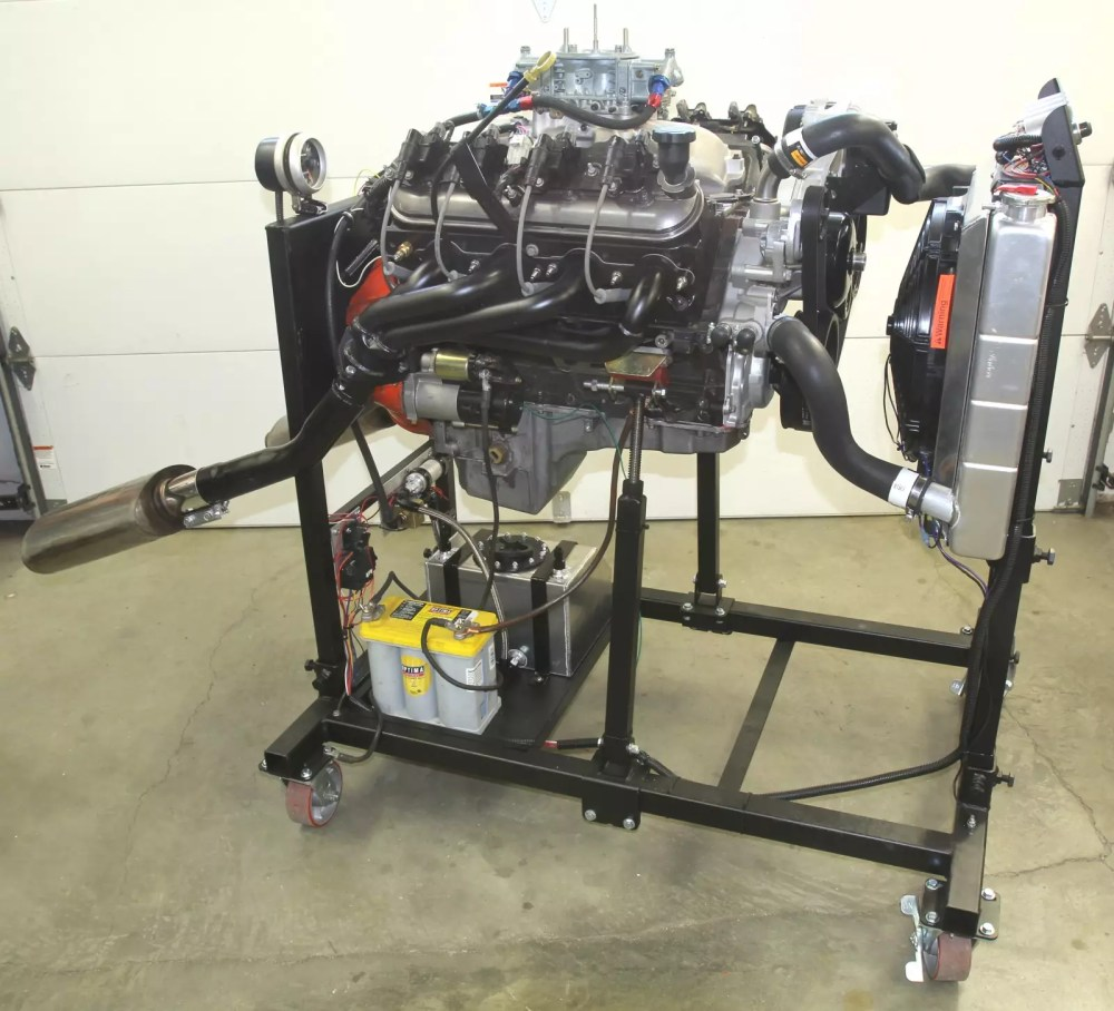 medium resolution of take a stand building summit racing u0027s engine test standhere u0027s our engine