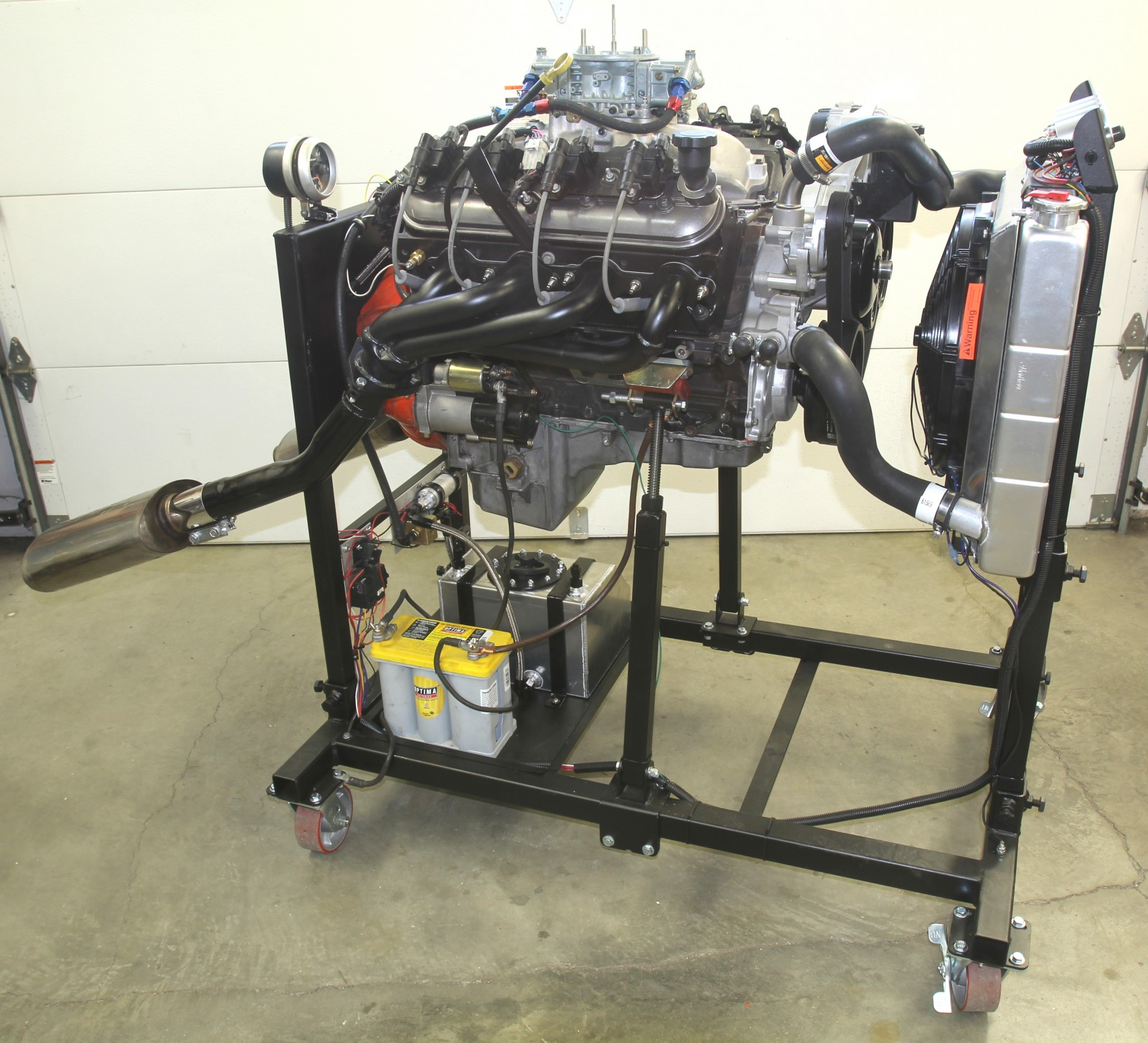 hight resolution of take a stand building summit racing u0027s engine test standhere u0027s our engine