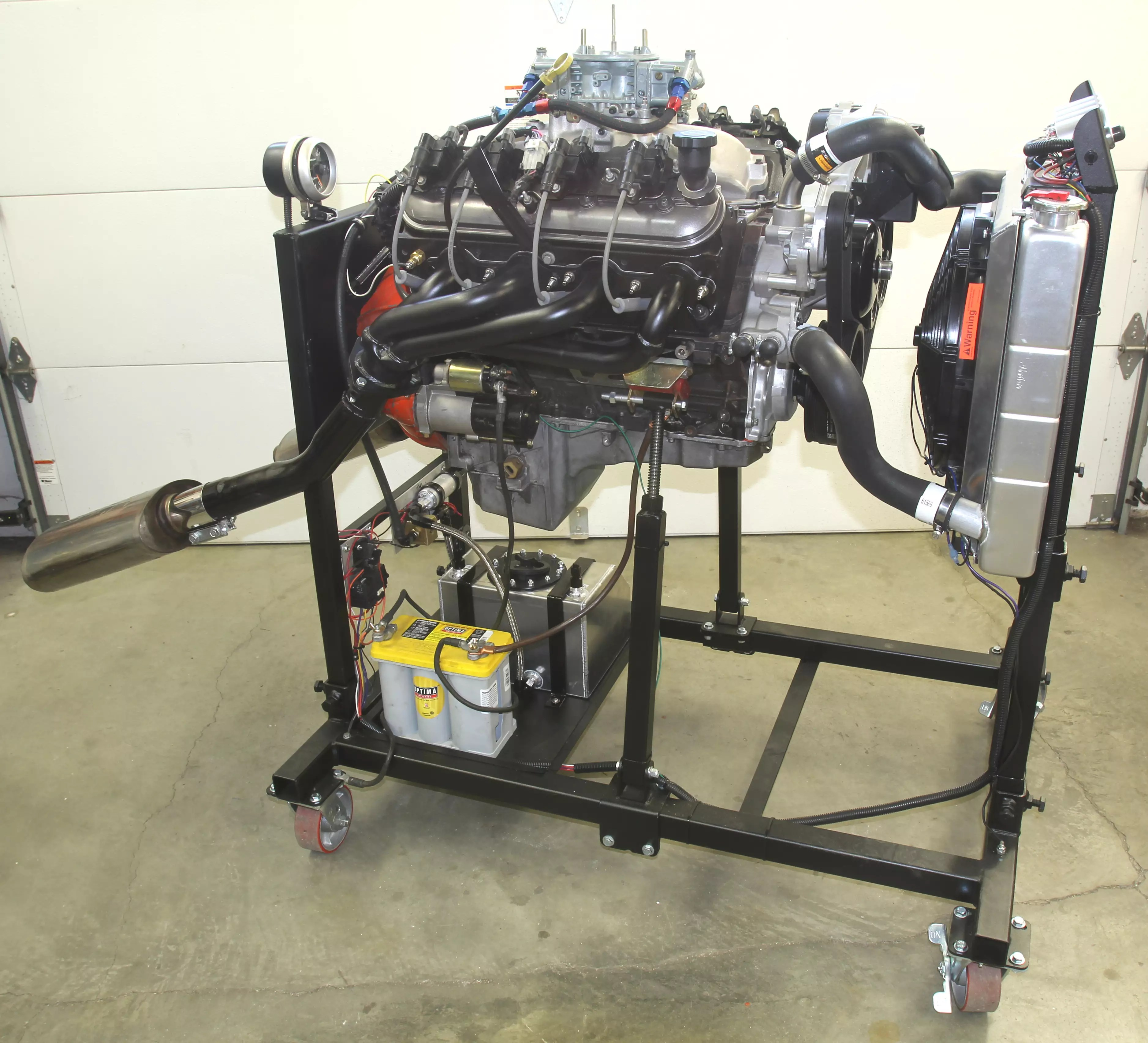 Chevrolet Ignition Wiring Diagram Take A Stand Building Summit Racing S Engine Test Stand