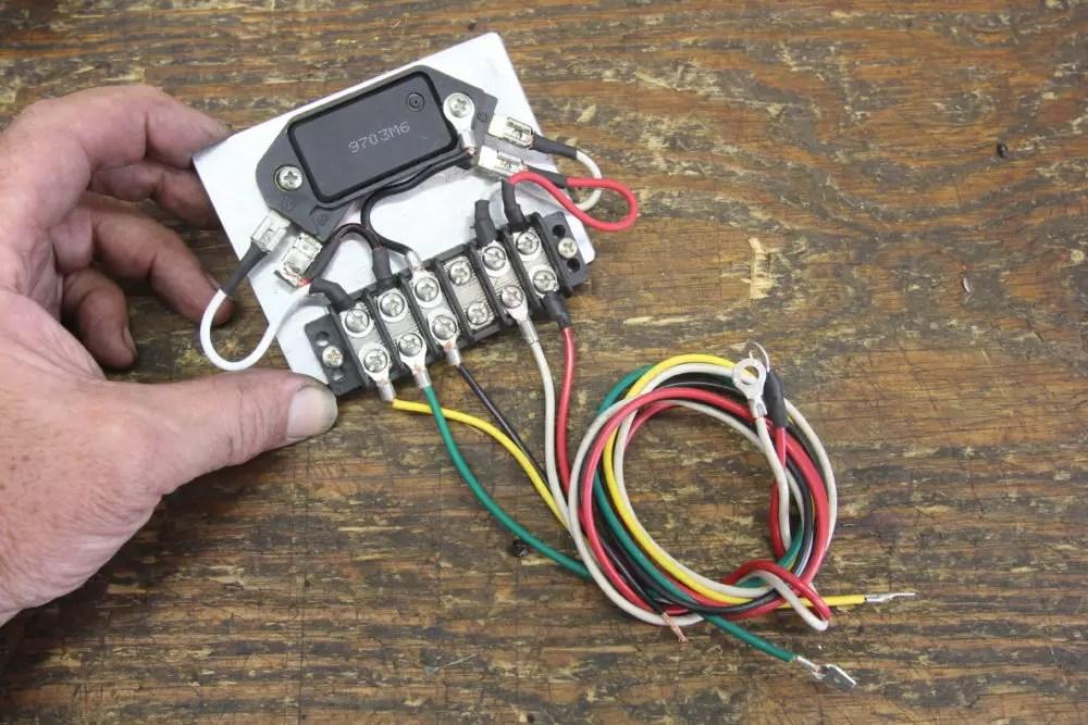 Gm Hei Distributor Module Wiring Diagram On Hei Conversion Wiring