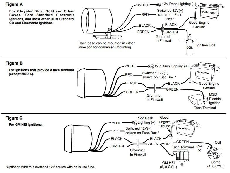 Vdo Tach Wiring Diagram Wiring Diagram – Isspro Tachometer Wiring Diagram