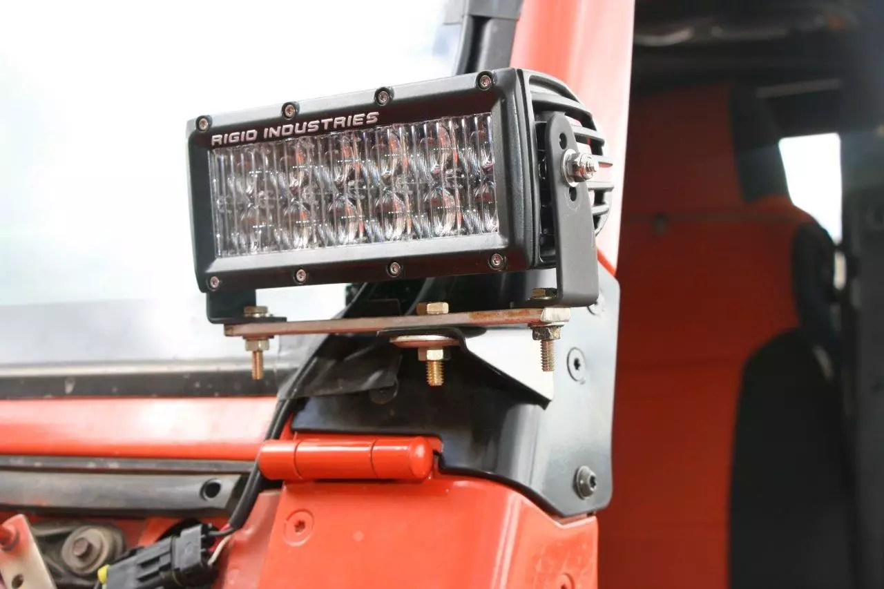 hight resolution of in order to mount the driving lights we used a piece of flat steel
