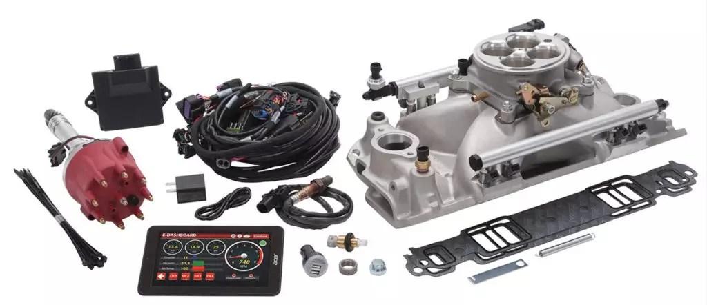 Parts Bin Edelbrock ProFlo 4 Electronic Fuel Injection Systems  OnAllCylinders