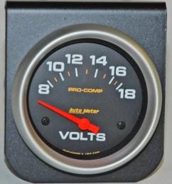 gauge cluster voltage regulator on gauges auto meter voltmeter [ 934 x 1024 Pixel ]