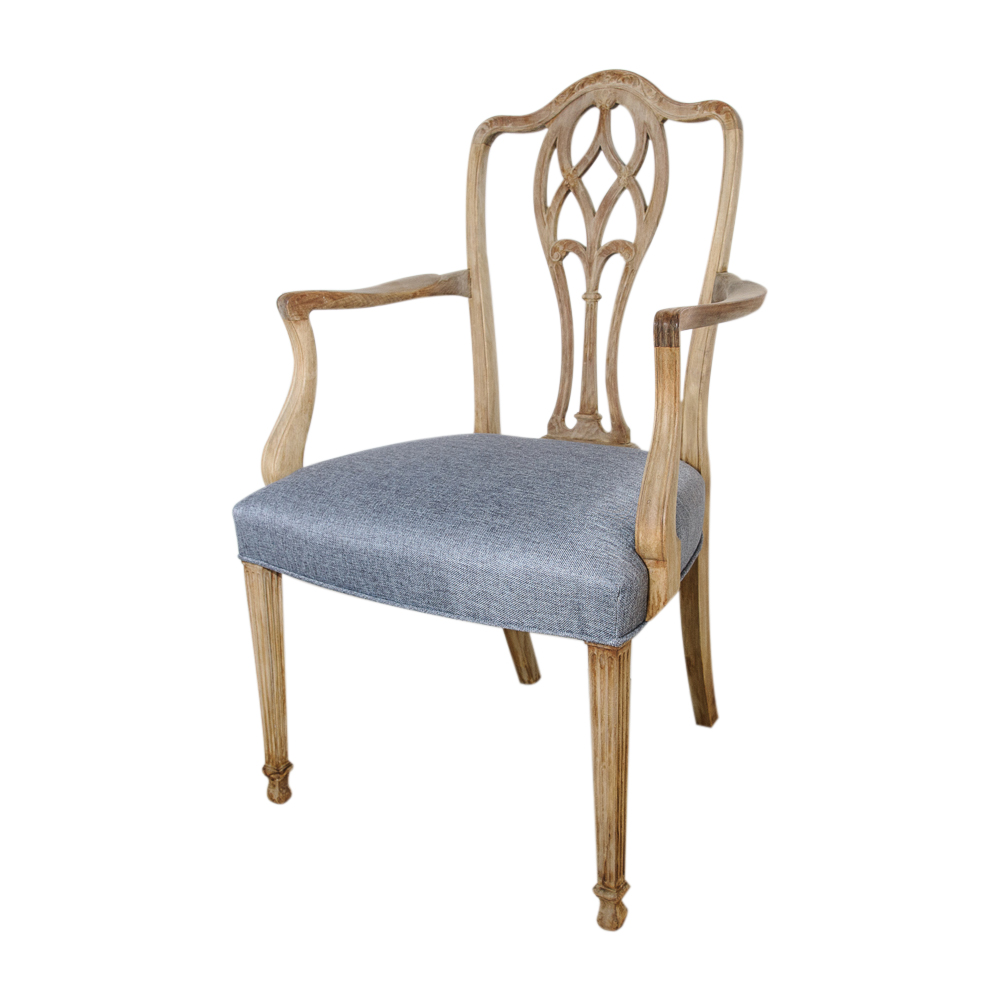Set Of 8 Hepplewhite Dining Chairs  On Antique Row  West