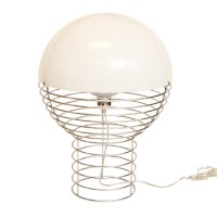 Vintage Verner Panton Wire Table Lamp : On Antique Row