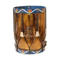 Mid-Century Eagle Drum Side Table : On Antique Row - West ...