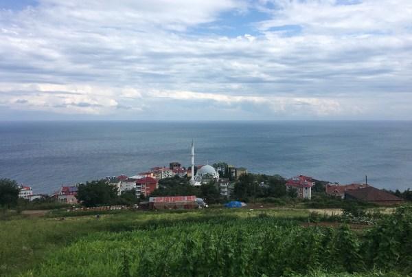 Akçakale, Trabzon'dan Bir Manzara