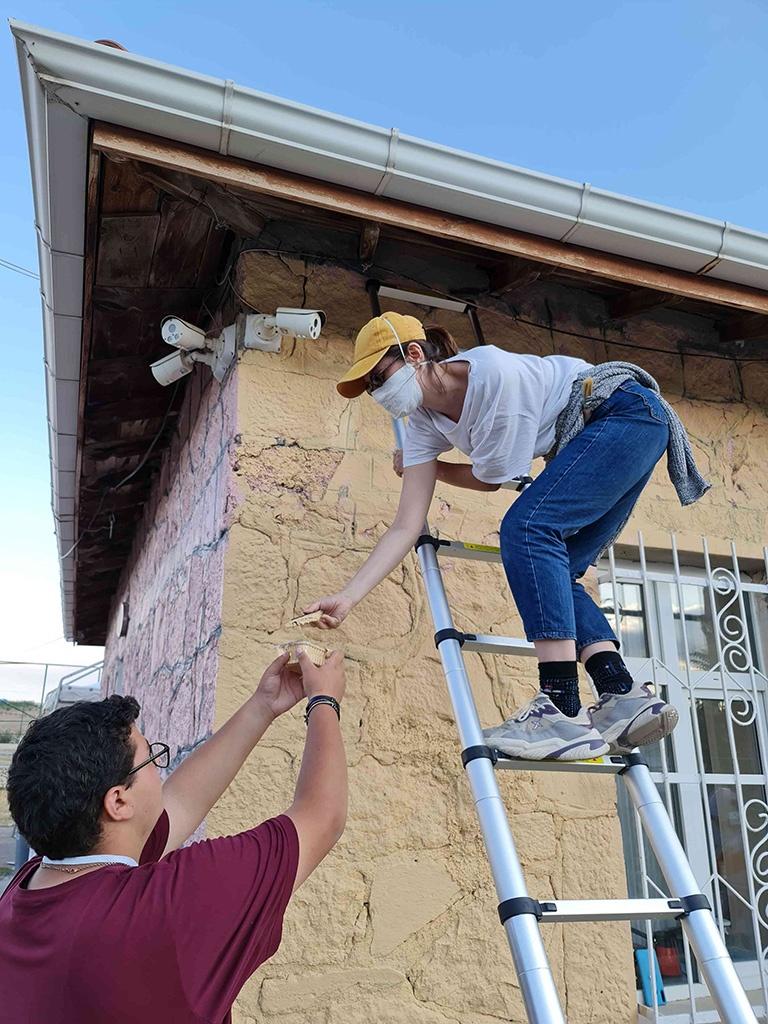 Ankara'daki Bir Köy Okulunu Onardık - 06