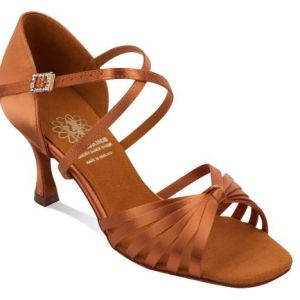 Supadance Style 1066 – Dark Tan Satin
