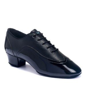 JONES – BLACK CALF/BLACK PATENT