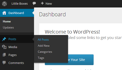 Wordpress 3.8 menu responsive