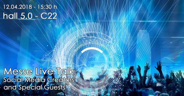 Messe Live Talk Laserworld & Prolight + Sound