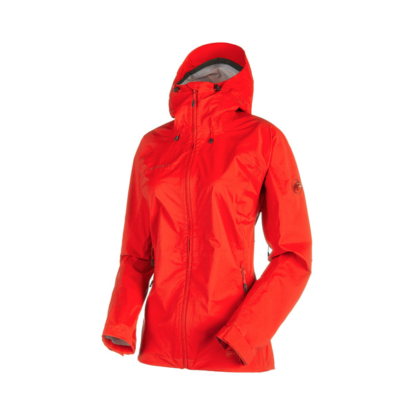 Mammut Guscio Donna Keiko HS Hooded Jacket Women impermeabile