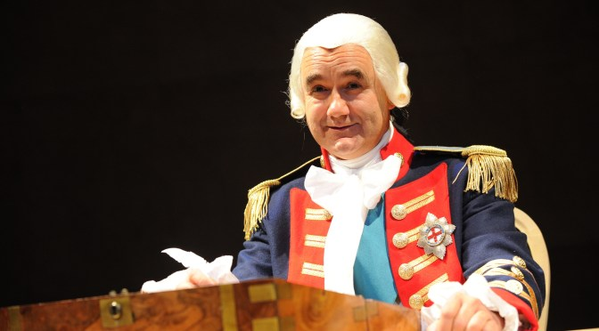 """The Madness of George III"" at the Apollo Theatre"