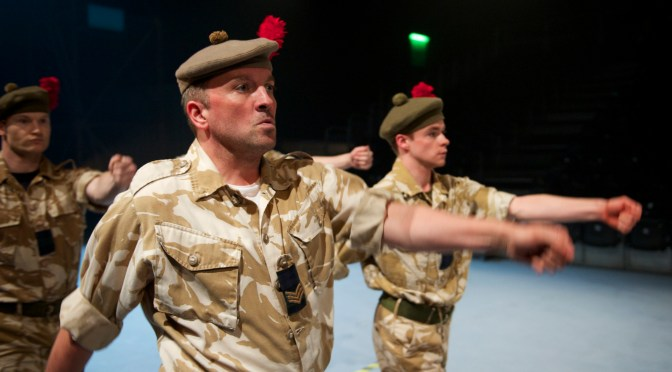 """""""Black Watch"""" at the Barbican"""