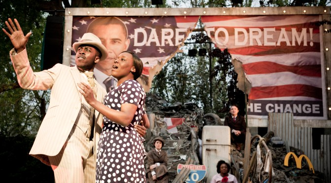 """Ragtime"" at Regent's Park Open Air Theatre"