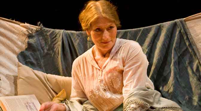 """The Seagull"" at the Arcola Theatre"