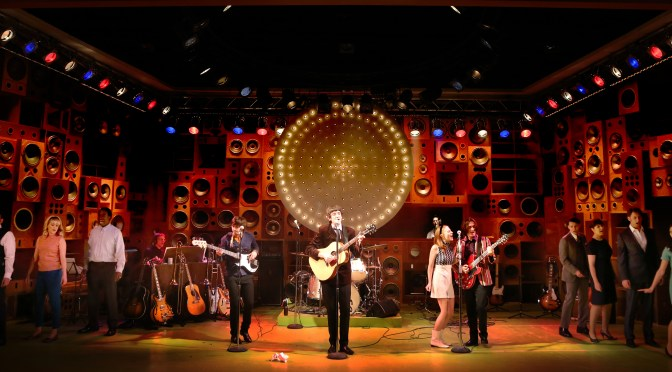 """Sunny Afternoon"" at the Harold Pinter Theatre"