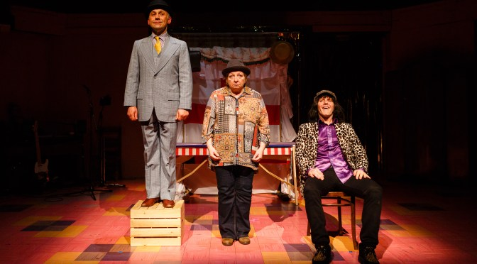 """Monster Raving Loony"" at the Soho Theatre"