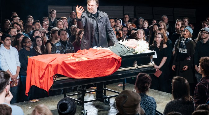 """Julius Caesar"" at the Bridge Theatre"