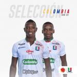 Carbonero y García, a Selección Colombia Sub 23