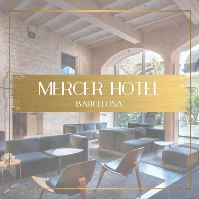 Mercer Hotel Barcelona feature