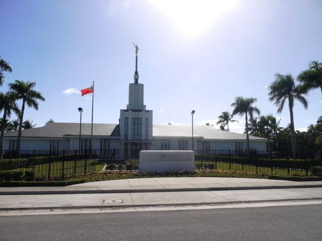 """""""One of the many Mormon churches in Tonga"""""""