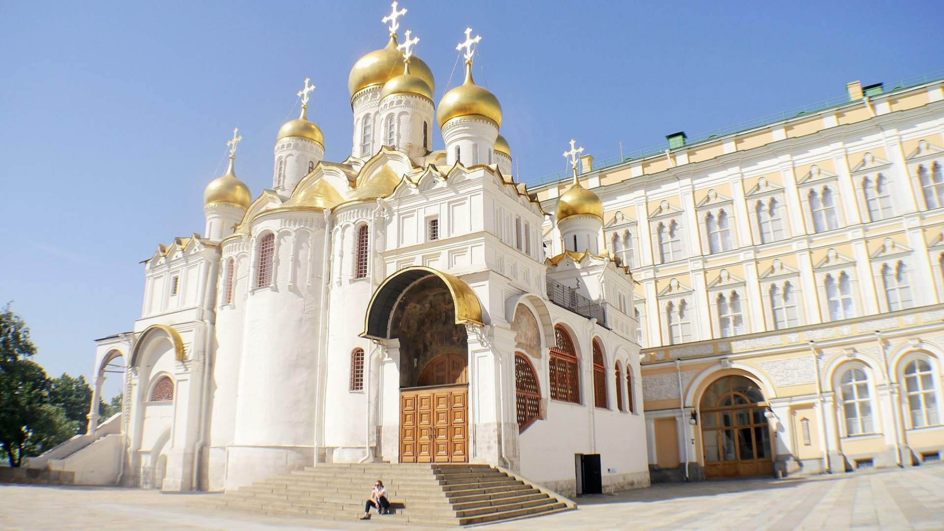Cathedral on the Trans Siberian journey
