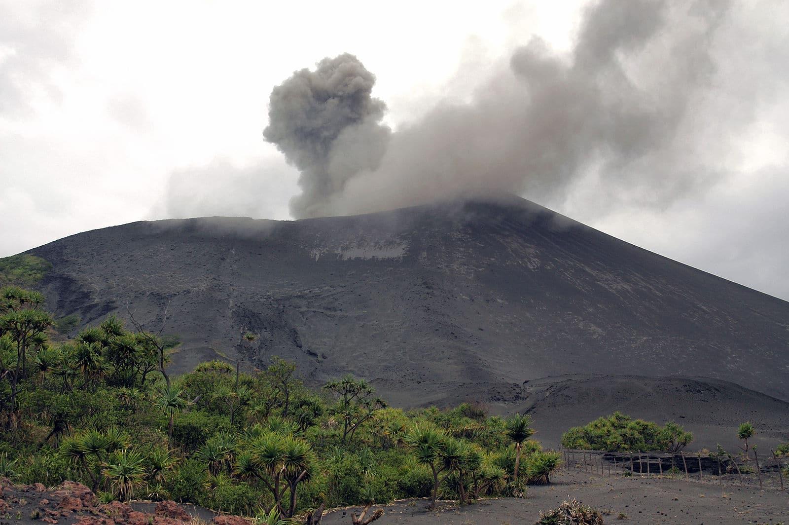Yasur active volcano, Vanuatu