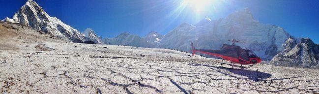 """Everest Base Camp helicopter trip"""