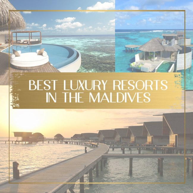 Best luxury resorts in the Maldives feature
