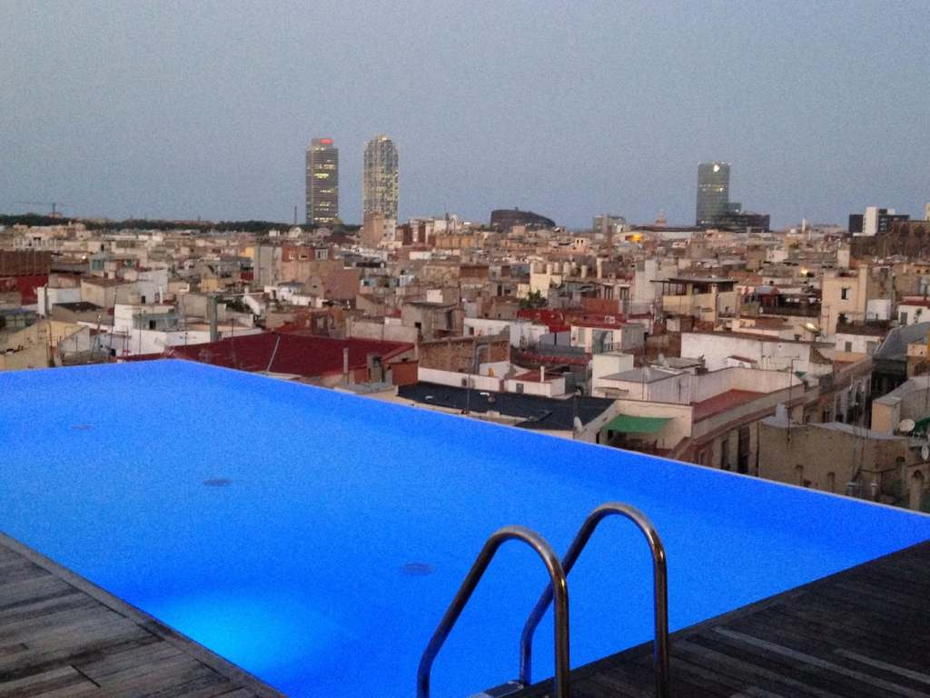 Gran hotel central rooftop