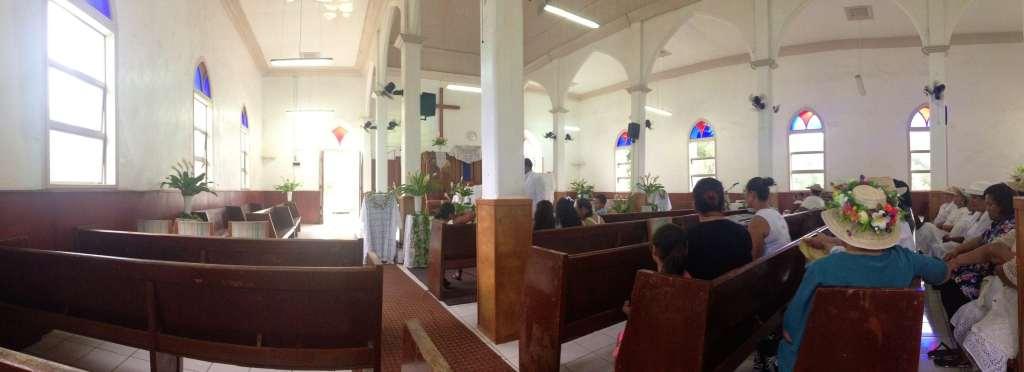 Sunday Church cook islands