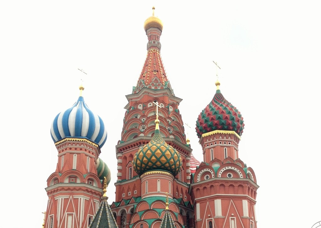 Moscow St. Basel's Church